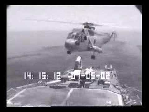 Landing An Helicopter At Sea Seems Horribly Hard