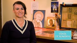 Tânăr de România: Luptătoarea cu suflet de artist