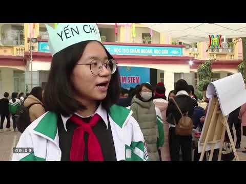 Các em học sinh THCS Tân Định với Hoạt động trải nghiệm STEM 2021