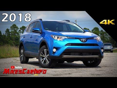 2018 Toyota RAV4 XLE – Ultimate In-Depth Look in 4k
