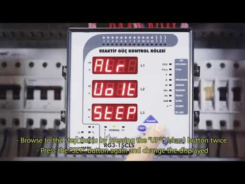 RG3-15 CLS Settings to Disable All Steps In Case Of An Over Voltage Alarm