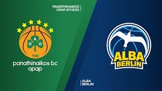 Panathinaikos OPAP Athens - ALBA Berlin Highlights | Turkish Airlines EuroLeague, RS Round 8