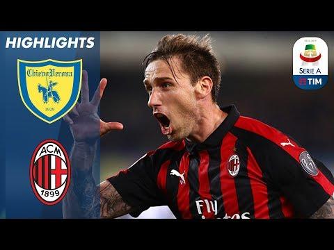 Chievo 1-2 Milan   Piątek Scores Again As Milan Continue Great Form   Serie A
