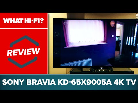 Sony Bravia KD-65X9005A - 4K TV video review