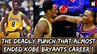 The Deadly Punch That Almost Ended Kobe Bryant's Career !