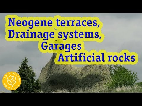 Towns of the Neogene Period: Stone Terraces, Drainage Systems and Man-Made Rocks