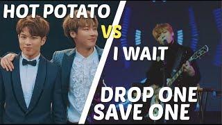 DROP ONE, SAVE ONE KPOP (CHOOSE BETWEEN TWO SONGS)