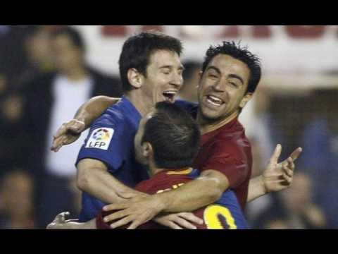 Xavi & Iniesta - The Geniuses! (Best Midfield Ever!)