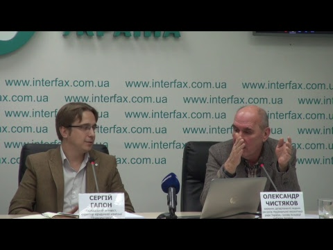 """Press conference entitled """"Building up Floodplain of Irpen River - Powerful Eco-bomb near Kyiv."""""""