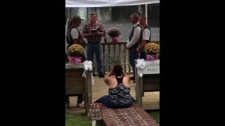 Sharon And Richies Camo Wedding