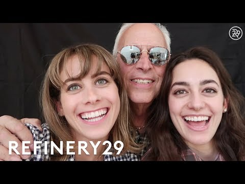 Lucie Fink Recreates Childhood Photos With Her Dad | Lucie Fink Vlogs | Refinery29