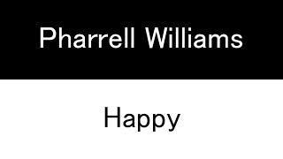 Pharrell Williams - Happy (Switch lyrics)