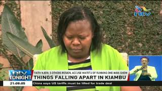 All not well in Kiambu, ex-finance chief says - VIDEO