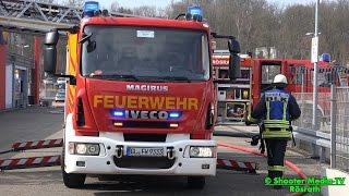 preview picture of video '+ FEUER BEI LIDL + [Feuerwehr mit viel Einsatzkräften vor Ort] - ERFOLGREICHE BRANDBEKÄMPFUNG | [E]'