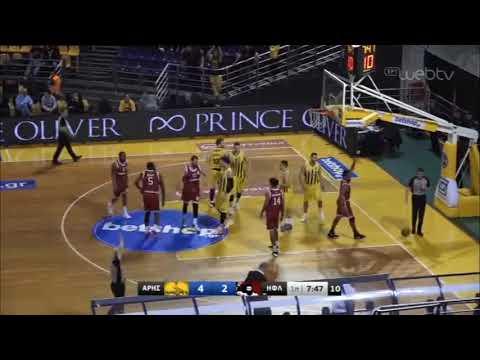 Basket League 2019-2020: ΑΡΗΣ – ΗΦΑΙΣΤΟΣ   07/03/2020   ΕΡΤ