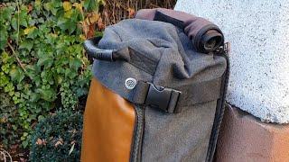 Rucksack Reisetasche und Laptop Tasche in einem? Der Overmont Vintage Rucksack