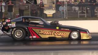 The March Meet, 2017. Nostalgia Funny Car Eliminations 1.