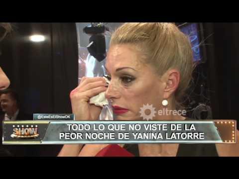 Yanina Latorre se quebró en llanto te mostramos el backstage