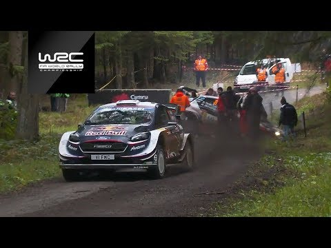WRC - Dayinsure Wales Rally GB 2018: Shakedown Highlights