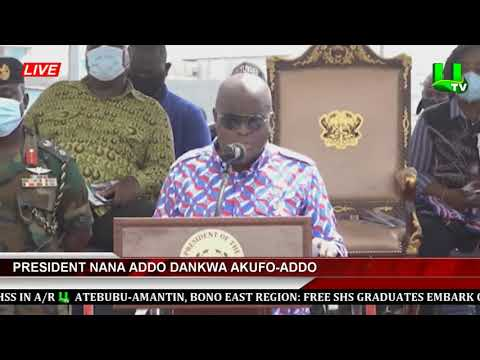 Prez. Akufo-Addo Commissions First Phase Of Obetsebi Lamptey Interchange