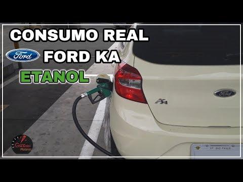 CONSUMO REAL FORD KA  Giro consumo #8
