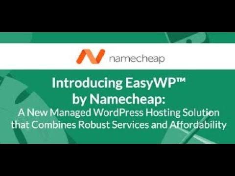 Namecheap WordPress Hosting Review: Is EasyWP Worth It Or Not? Watch This First!