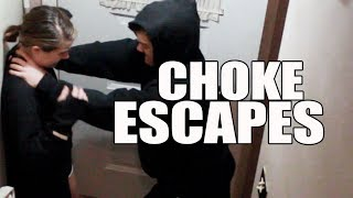 Top 3 Choke Escapes for Self Defense - Win the Fight Against an Attacker