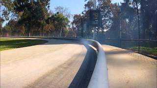 Tether car streamliner 10cc 197 mph