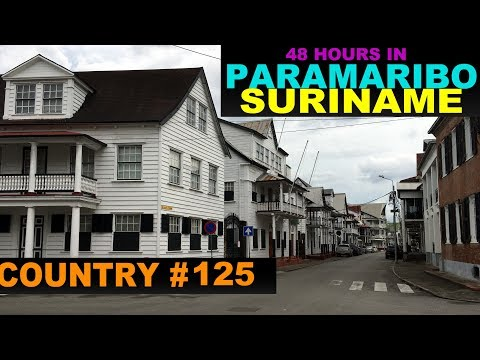 A Tourist's Guide to Paramaribo, Suriname
