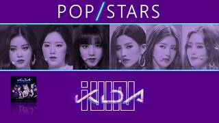 How Would (G)I-DLE Sing K/DA - POP/STARS