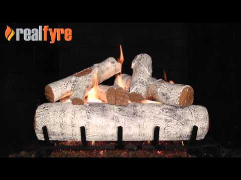 Peterson Real Fyre White Birch Gas Logs