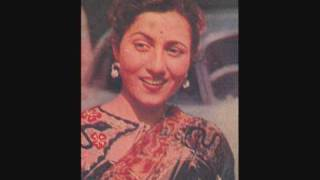 lata (kaisay tum bin) gumashta 1951 - YouTube