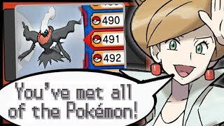 (Part 2) What Happens When You COMPLETE The Pokedex in Every Pokemon Game?