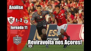 Liga 2019-20 Jornada 11 | Santa Clara 1-2 Benfica (Análise)