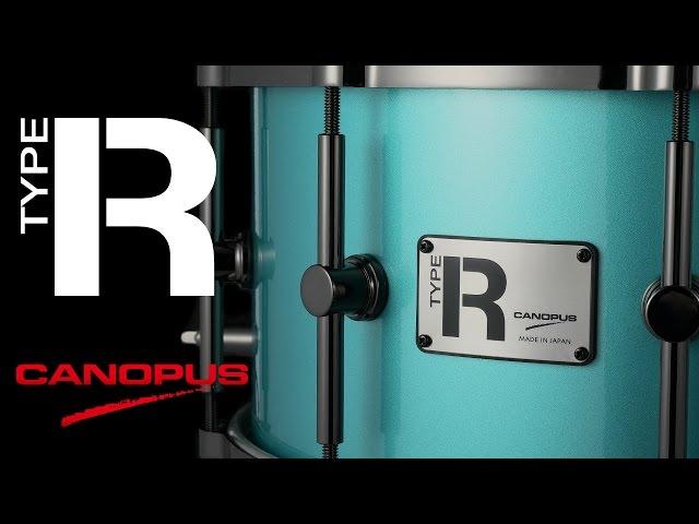[CANOPUS / カノウプス] Type R Series Snare Drum