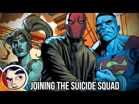 "Red Hood ""Joins the Suicide Squad"" – Rebirth Complete Story"