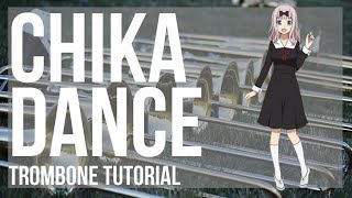 Kei Shirogane  - (Kaguya sama: Love Is War) - How to play Chika Dance (Kaguya sama) by Kei Haneoka on Trombone (Tutorial)