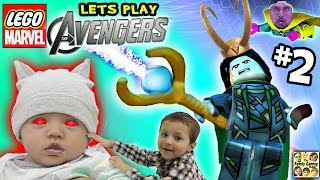 Duddy plays LEGO Marvel Avengers #2: Baby Daredevil?!?!  Okee Dokee LOKI (FGTEEV Gameplay)