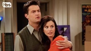 Friends - Chandler Loves Monica (Clip)   TBS