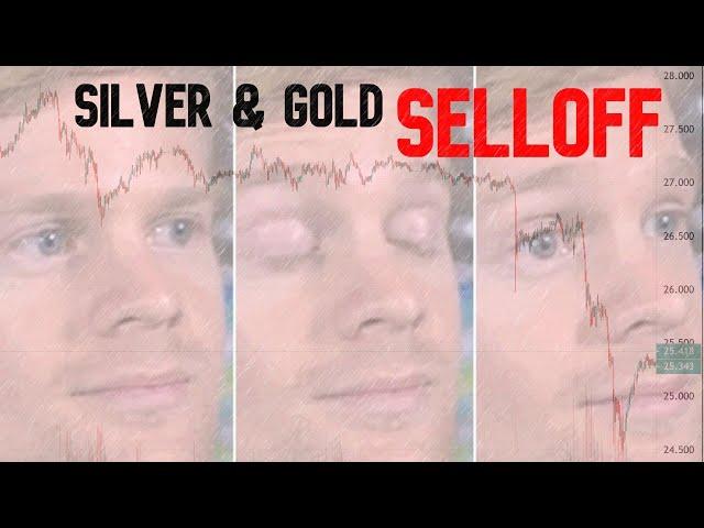 Silver & Gold Bullion Selloff on Uber Bullish Democrat Senate Wins
