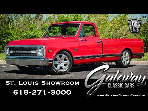 Video of '69 C10 - $44,500.00 Offered by Gateway Classic Cars - St. Louis - QB8I