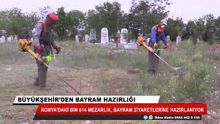 Konya Büyükşehir'den bayram hazırlığı