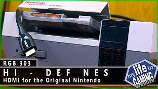 RGB303 :: Hi-Def NES: HDMI vs. RGB