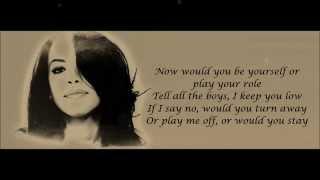 Aaliyah - Try Again Lyrics HD