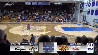 Boys Basketball Sectional #51 (Triton) Oregon Davis vs Argos