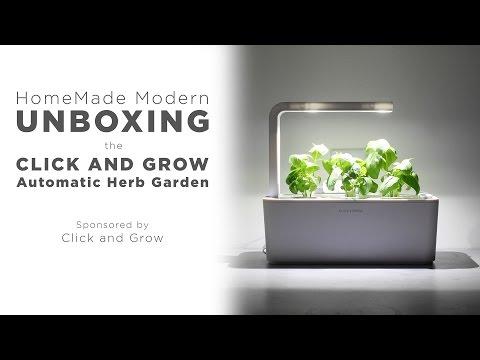 Smart Herb Garden Click Grow - In home herb garden