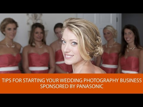 tips for starting your wedding photography business