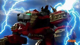 Power Rangers Ninja Steel - The Royal Rumble - Lion Fire Megazord Fight | Episode 15