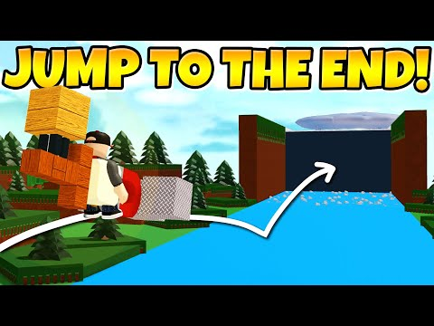 JUMP TO THE END GLITCH! *Tons of gold!* 💸 Build a Boat