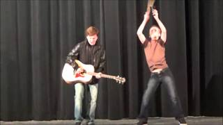 'More Cowbell' at Sycamore Junior High Variety Show 2016